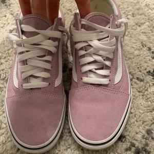 lavender old skool vans
